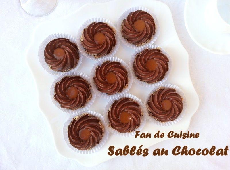 Sablés au chocolat /Nestlé caramélisé