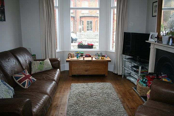Homes: budget front room makeover - in pictures | Front rooms ...