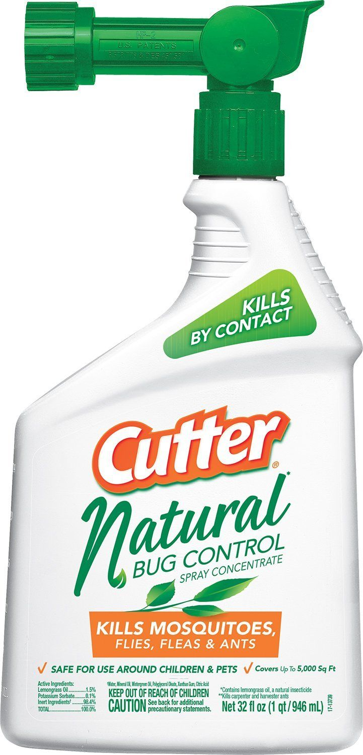 Cutter Natural Bug Control Spray Concentrate (HG-95962 ...