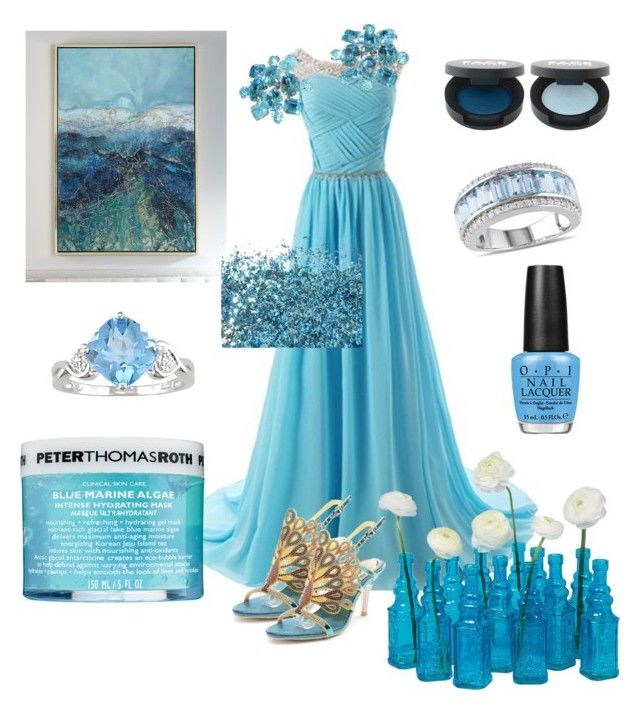 """Frozen"" by klm62 ❤ liked on Polyvore featuring FACE Stockholm, Ice, Peter Thomas Roth, OPI and Cultural Intrigue"