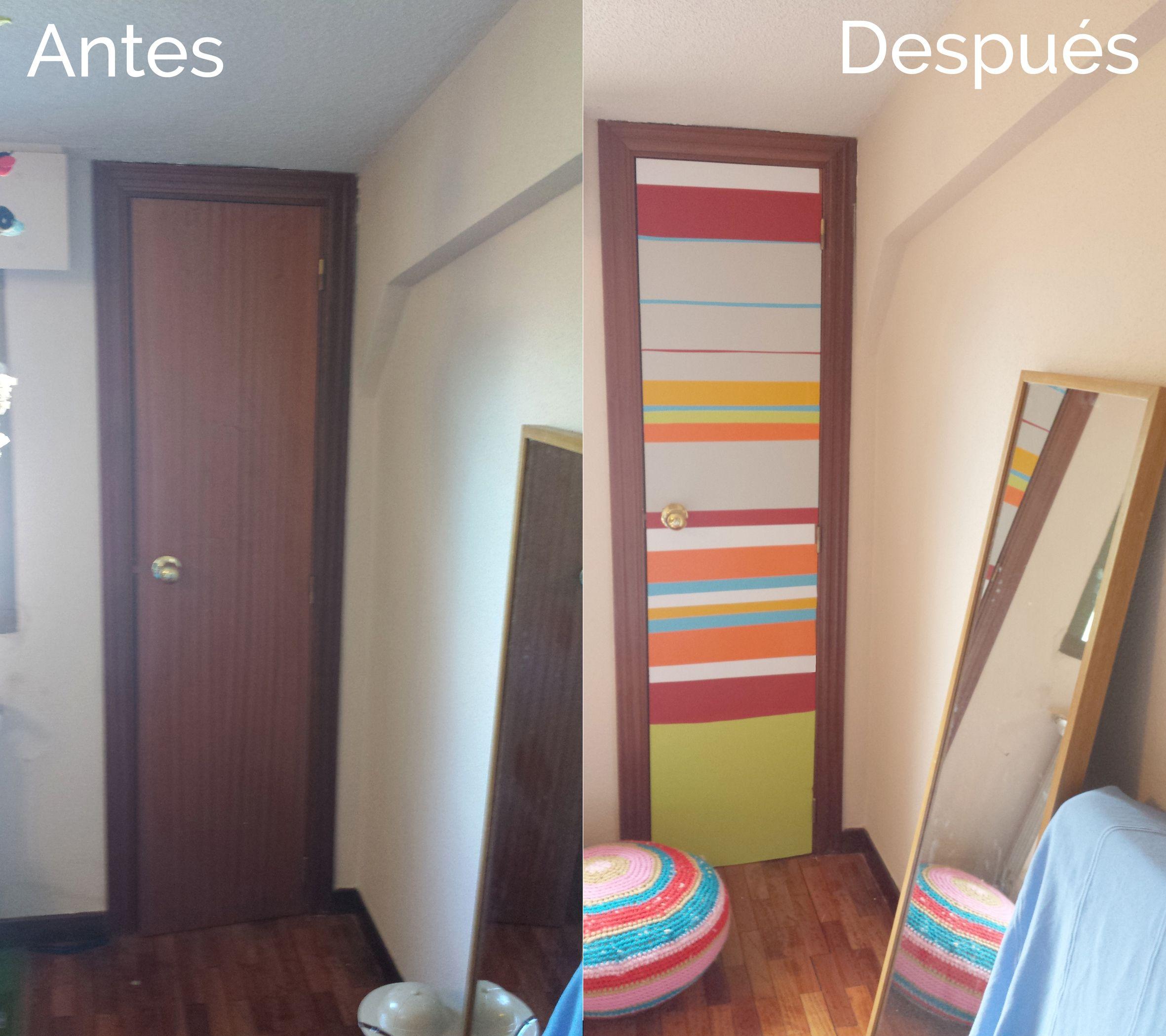 Luz, Como Añadir Luz A Una Habitacion Oscura Decorando Una Puerta DIY. Diy  DoorInterior DoorsDiy ...