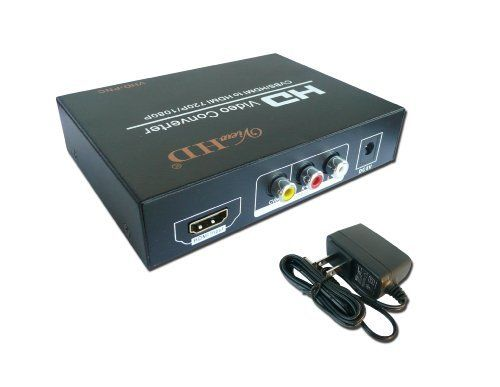 """ViewHD Multi-System HDMI / Composite AV Input to HDMI 720P/1080P Output Video Converter - Support Bi-directional Conversion Between PAL and NTSC- Superior Quality - Dual Voltage (110/220V Worldwide Use) by ViewHD. $59.95. This is the latest """"Bi-Directional"""" PAL to NTSC or NTSC to PAL video upscaling converter (Model: VHD-PNC) from ViewHD.   This AV+HDMI TO HDMI converter and  upscaler can convert 480I(NTSC)/576I(PAL) format signal to 720P/1080P HDMI signal output.   I..."""