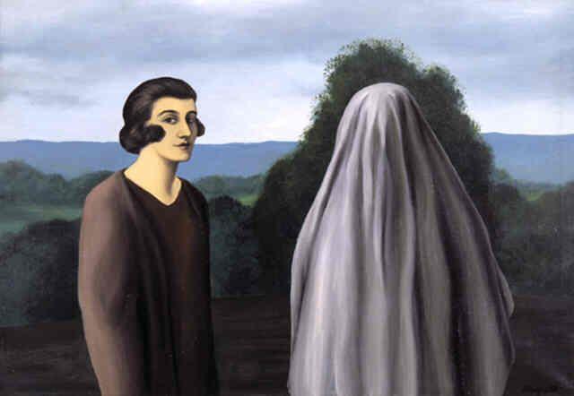 L'invention de la vie, Magritte.