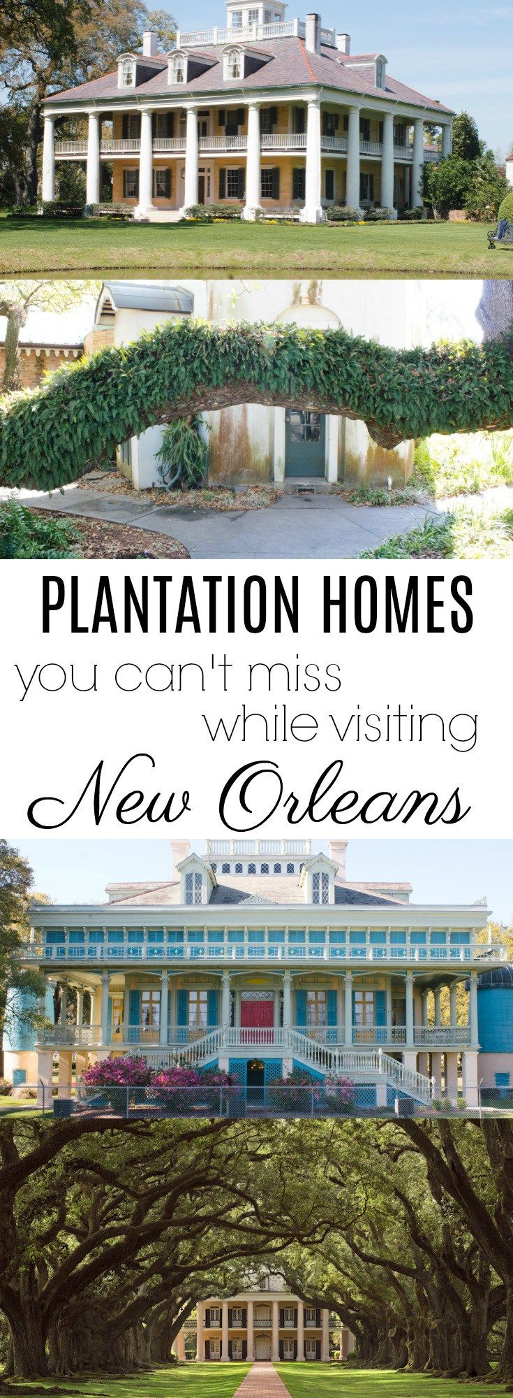 Louisiana plantation homes to visit while in New Orleans