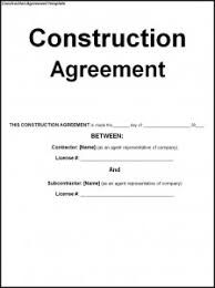 Image Result For Construction Service Agreement Template  London