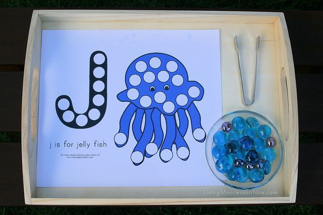 Montessori-Inspired Resources for World Ocean Day - lots of Montessori-inspired activities and printables (a number of free printables and some printables that only cost a dime throughout June) - great to observe World Ocean Day or for an ocean unit study this summer