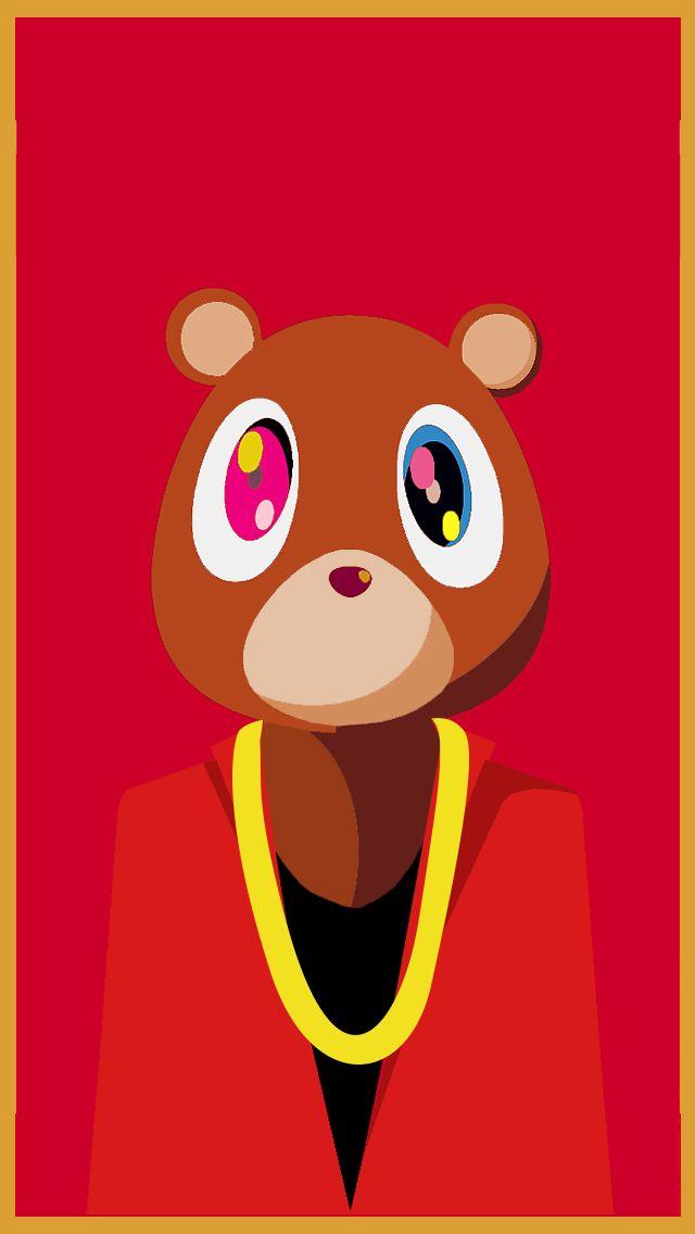 Kanye Bear Yeezy Kanye West Graduation Kanye West Wallpaper Kanye