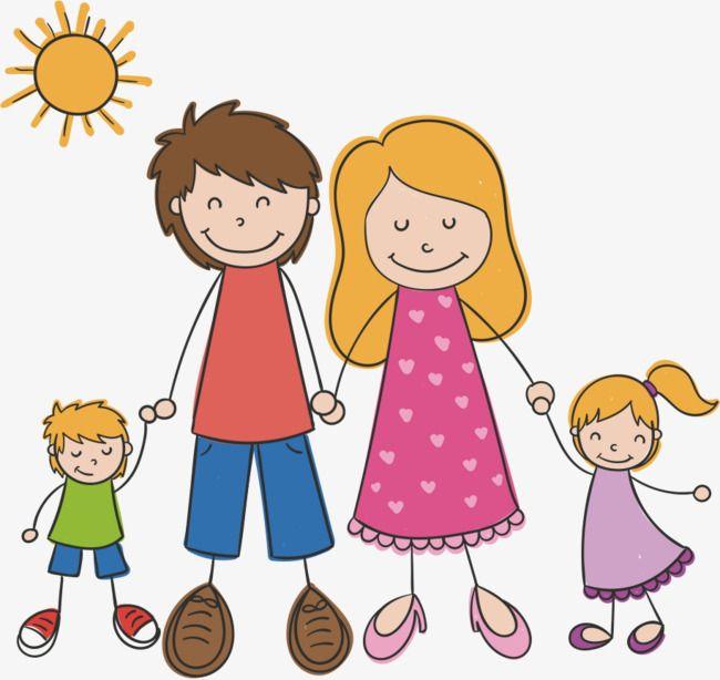 الاسرة السعيدة Family Drawing Family Cartoon Cute Drawings Of Love