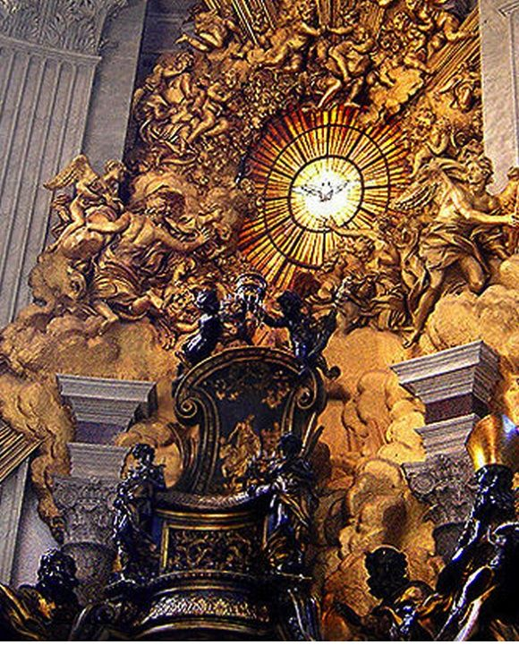 9 Things You Need To Know About The Chair Of St Peter Baroque Art Art History St Peter