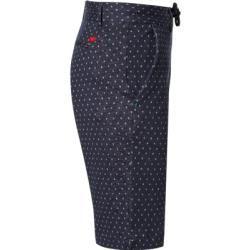Pantalones cortos Bob para hombre, algodón, bob estampado azul