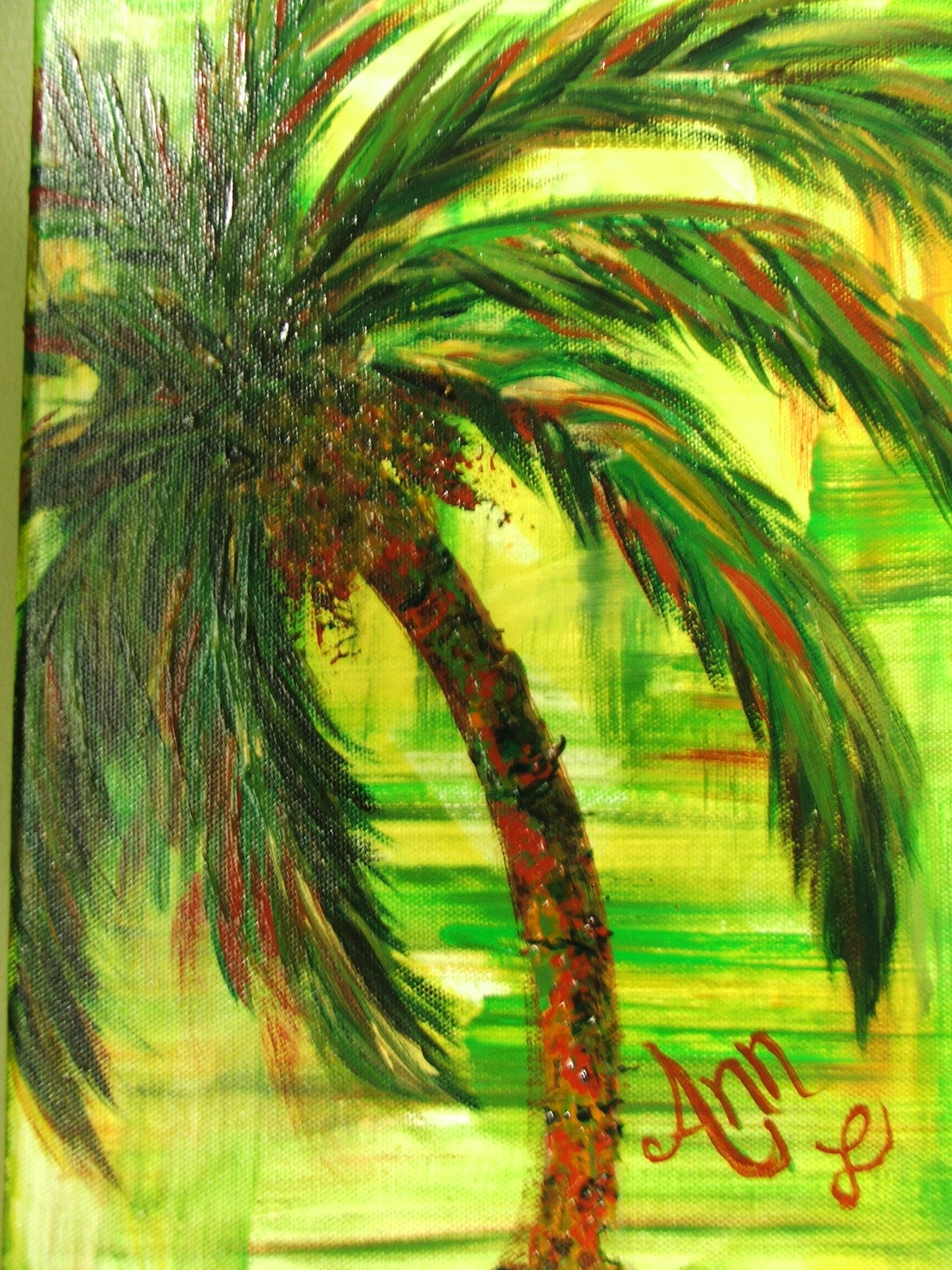 COMMISSIONED palm ...off to Texas | #Palms | Pinterest | Palm, Ann ...