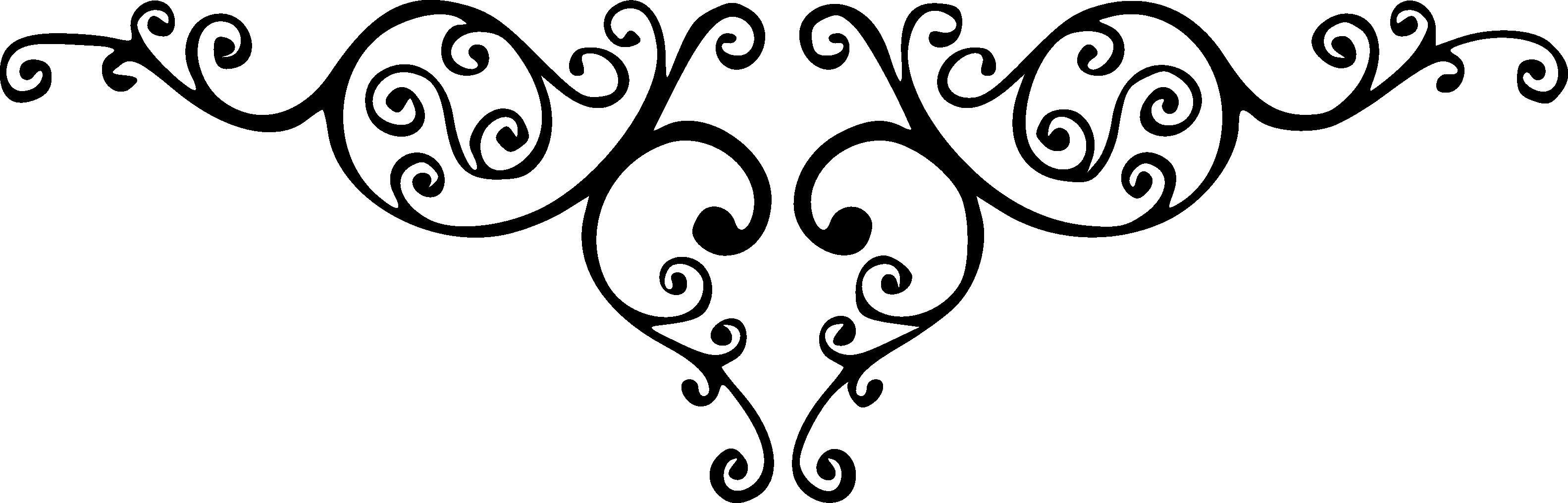 Картинки завитушки для оформления текста