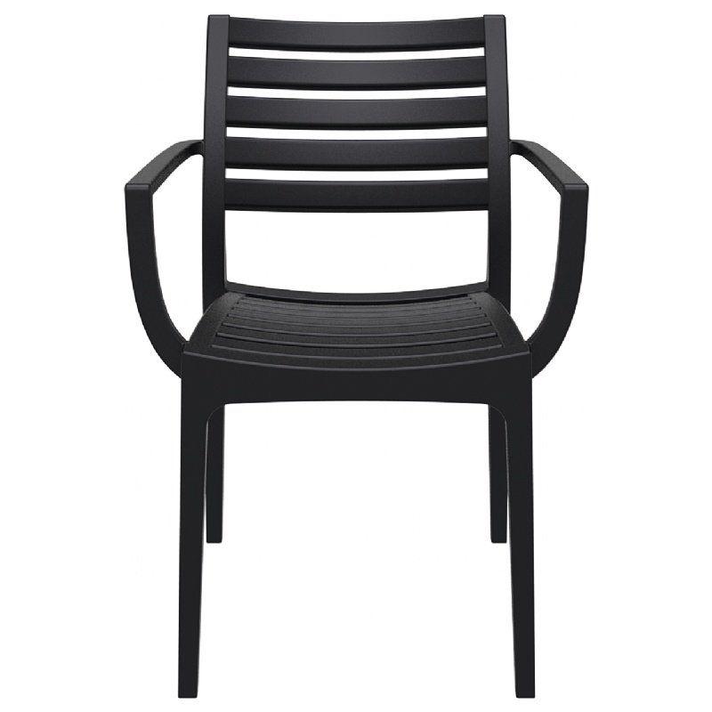 Nikoleta Stacking Patio Dining Chair Patio Dining Contemporary Outdoor Dining Chairs Outdoor Dining Chairs