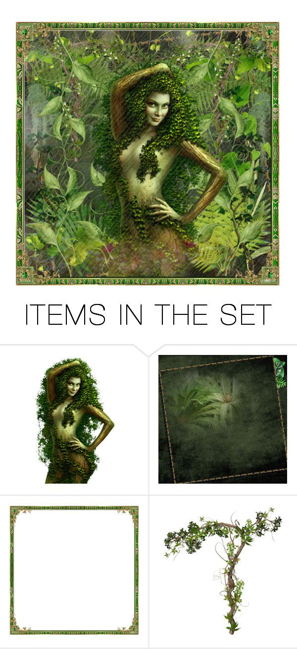 """Deep in the jungle  is a beauty"" by barebear1965 ❤ liked on Polyvore featuring art"