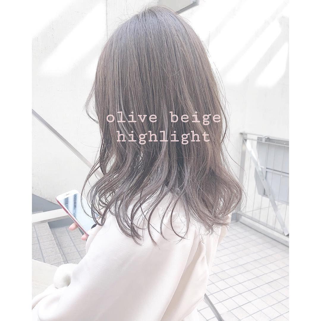 2019春 ベージュ が最新トレンドなの 注目ヘアカラーで髪から春