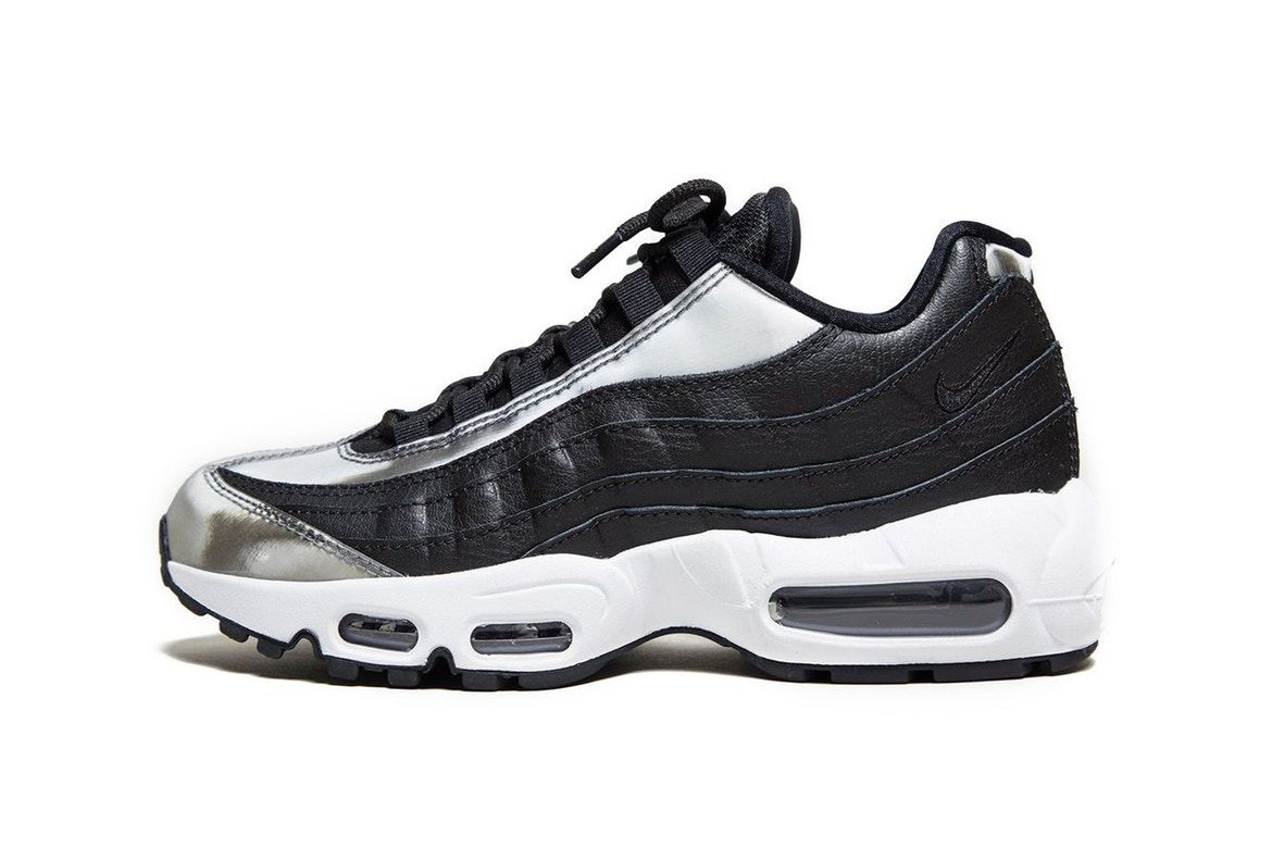 huge selection of c9630 c200f Nike s Air Max 95 Gets a Silver Lining
