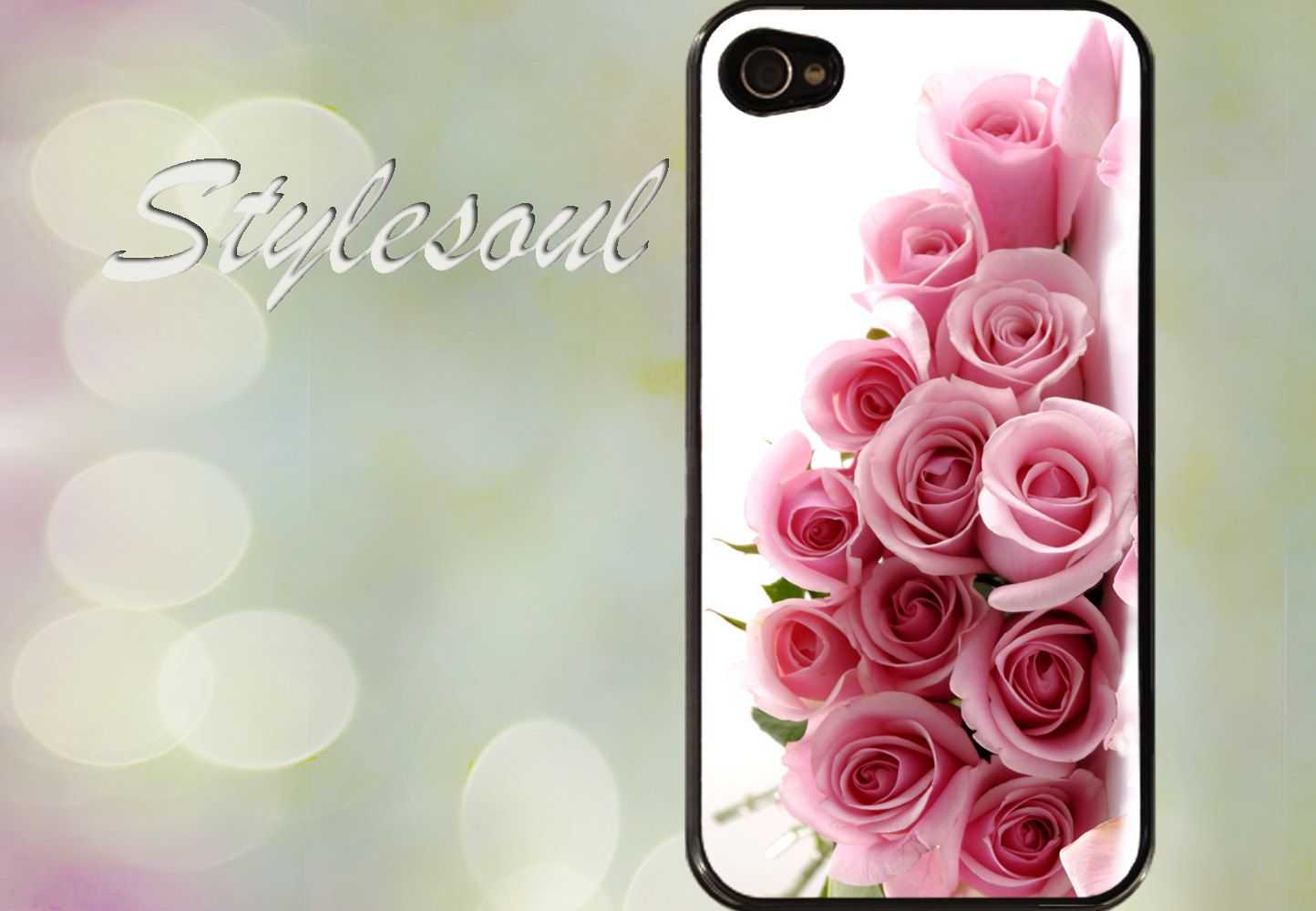 Pink roses iPhone 4 / 4S Case, iPhone 5 Case #roses