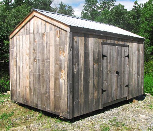 New Yorker A | Shed, Run in shed, Shed house plans