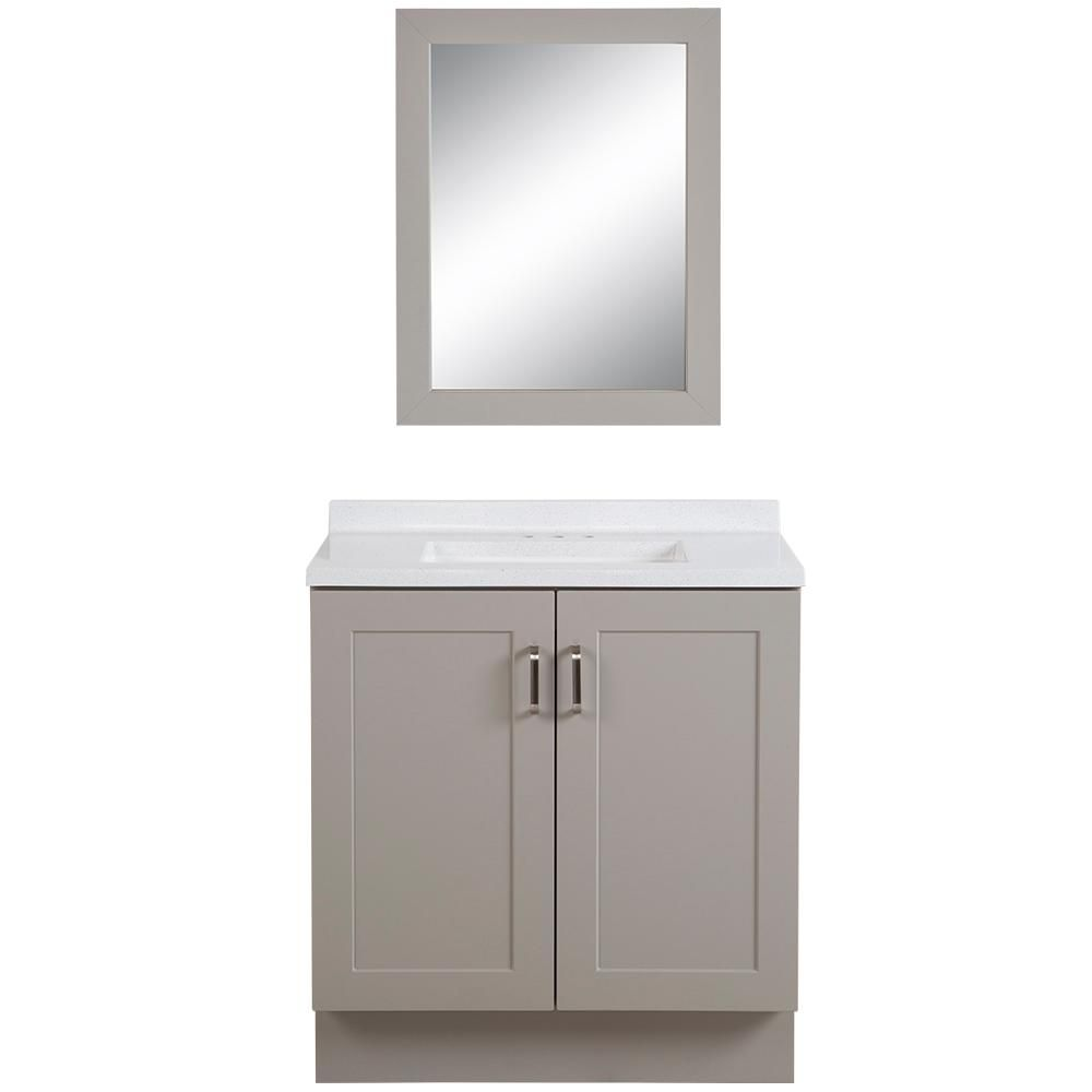 The Home Depot Logo White Sink Bath Vanities Vanity