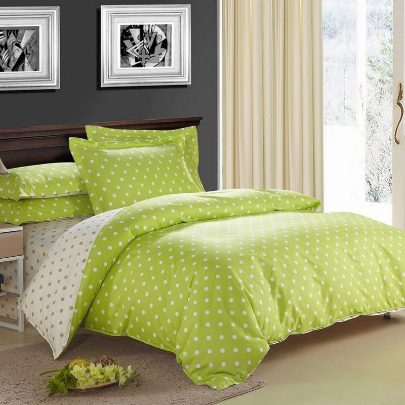 Full Size Lime Green Bedding Bedspread Bedroom Sets Green