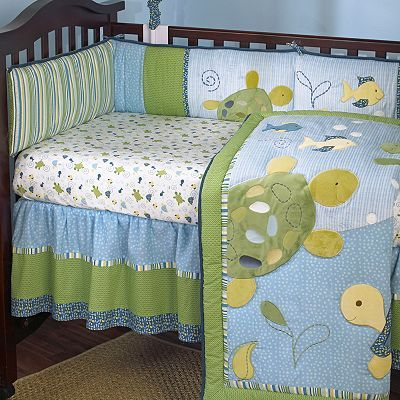 cocalo baby turtle reef turtle fitted crib sheet baby kid stuff