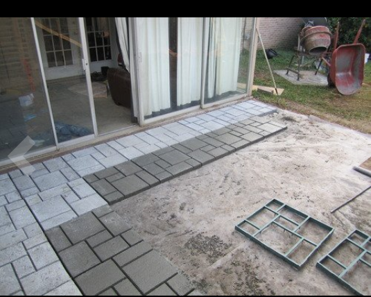 Beautiful Paving Mould For Concrete Slabs Path Garden Walk | Plastic Injection Molding