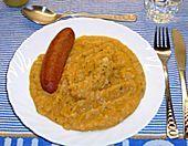 Karotten - Kartoffelmus mit Cabanossi (Rezept mit Bild)   Chefkoch.de