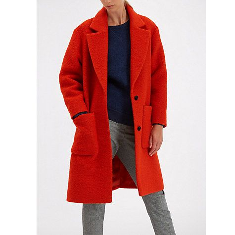 Jaeger Red Coat | Down Coat