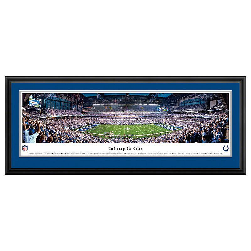 Indianapolis Colts Football Stadium Framed Wall Art, Multicolor