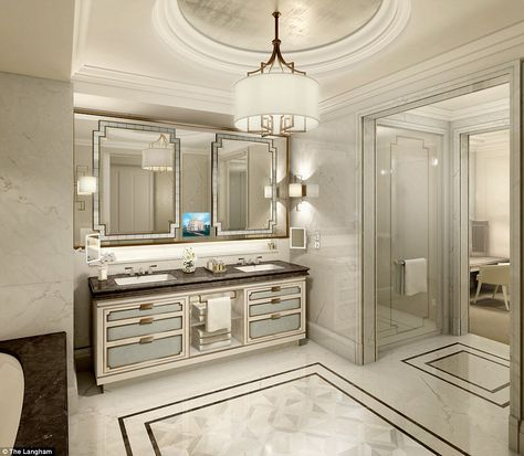 go inside the langham london's £24,000 a night penthouse