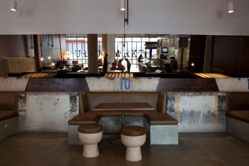 Concrete; Private Dining Areas; Polished Concrete