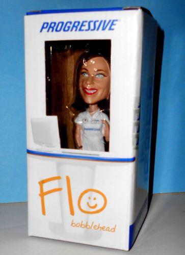 Progressive Insurance Flo Limited Edition Bobblehead Doll New In