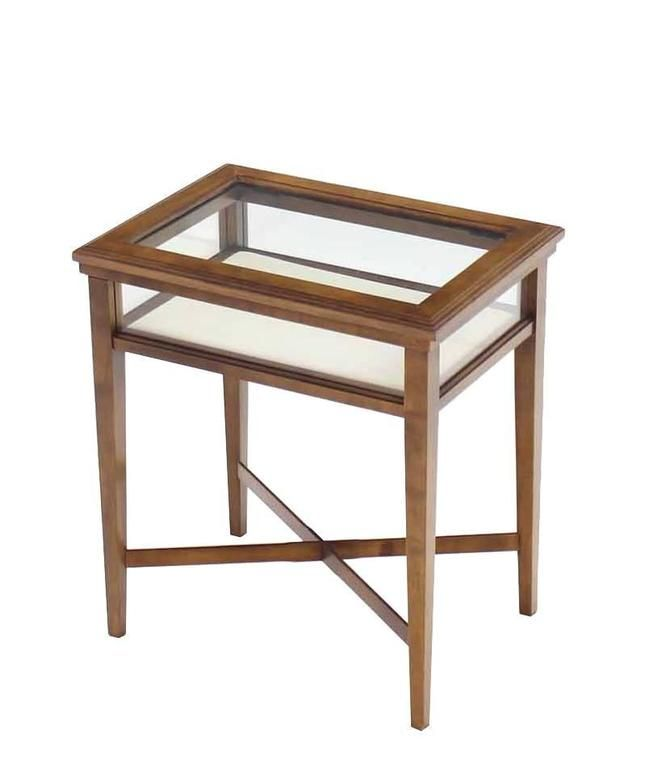 Terrific 1Stdibs Small Lift Top End Table Display Case American Mid Caraccident5 Cool Chair Designs And Ideas Caraccident5Info