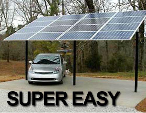 Carport Solar Sufficiency Pinterest Photovoltaique