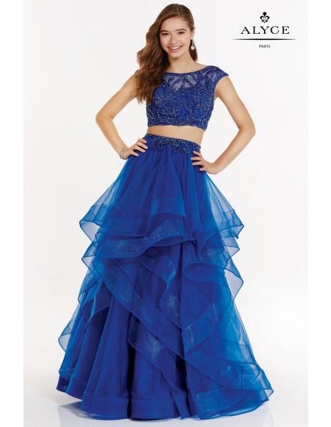 88c3b628ccb1 Alyce Paris 1231 Prom Dress in 2019 | The Lady in Blue | Prom ...