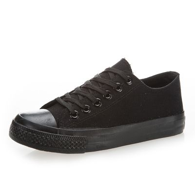 Barato 2015 canvas shoes casual shoes flat low women's shoes black color women sneakers, Compro Qualidade Tênis Estilosos diretamente de fornecedores da China:                ***We will just prepare the goods2-3 day and then send it to you ,pls do not worr