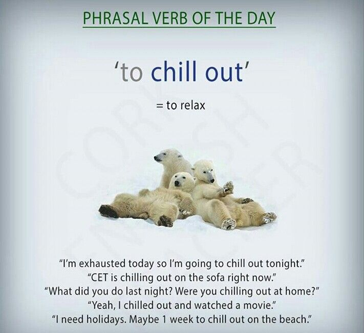 How to use the phrasal verb