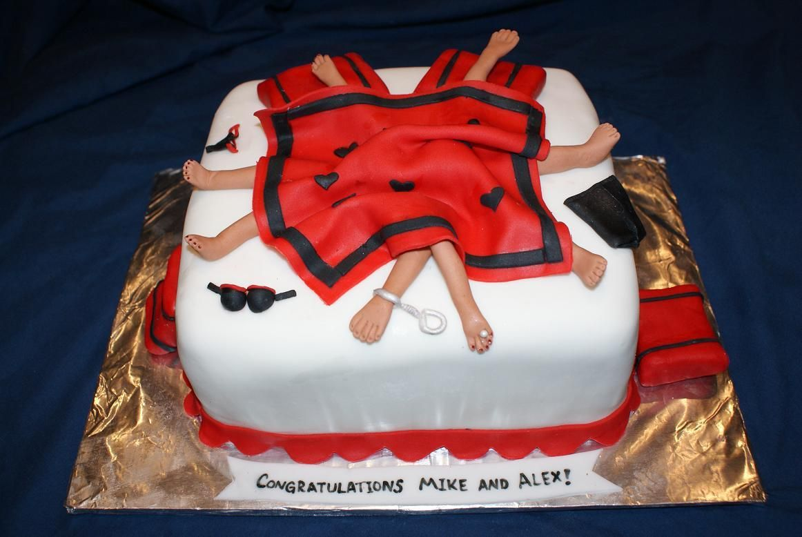 Joint Bachelor Bachelorette Party Cake Www Divinedessertstampa