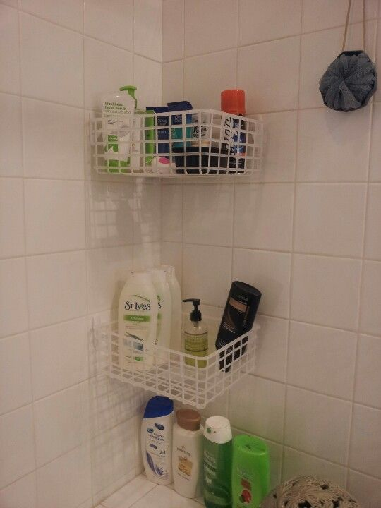 Do It Yourself Shower Caddy Materials Basket Size And Color Your