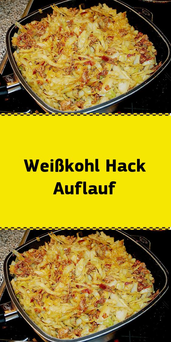 Weißkohl Hack Auflauf #spitzkohlrezeptehackfleisch Zutaten : 500 g Hackfleisc…
