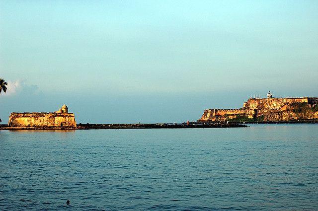 San Juan Bay  Enchanted Island - Spanish Fortifications -9842