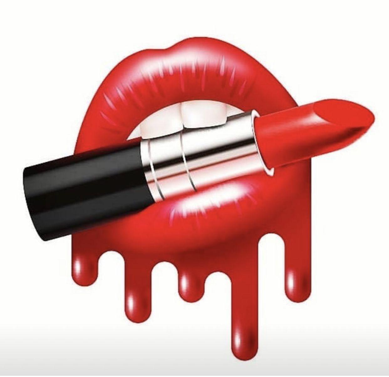 Pin By Lais On Art Photos Makeup Illustration Pop Art Lips Makeup Artist Logo
