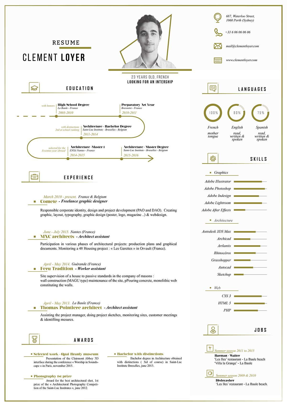 TodayS Resource Is A Fresh Free Resume Template That Is Very