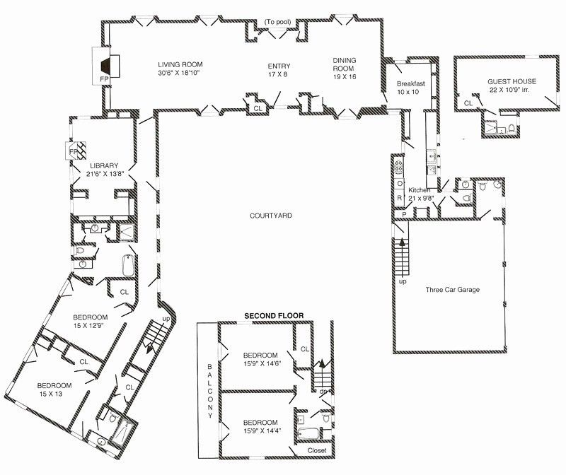 20 Inspirational Modern Dog Trot House Plans Gallery Courtyard House Plans Spanish Style Homes Dog Trot House Plans