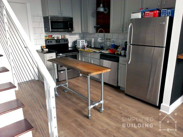 Pin By Simplified Building On Kitchen Islands Amp Carts In