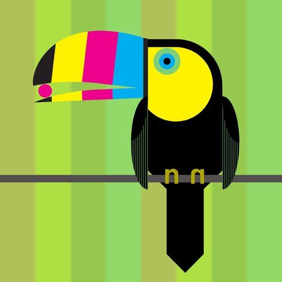 charley harper toucan - Google Search   Charley Harper   Pinterest ...