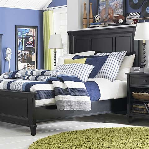 Panel Bed Black Panel Beds Elegant Bedroom Bedroom Sets