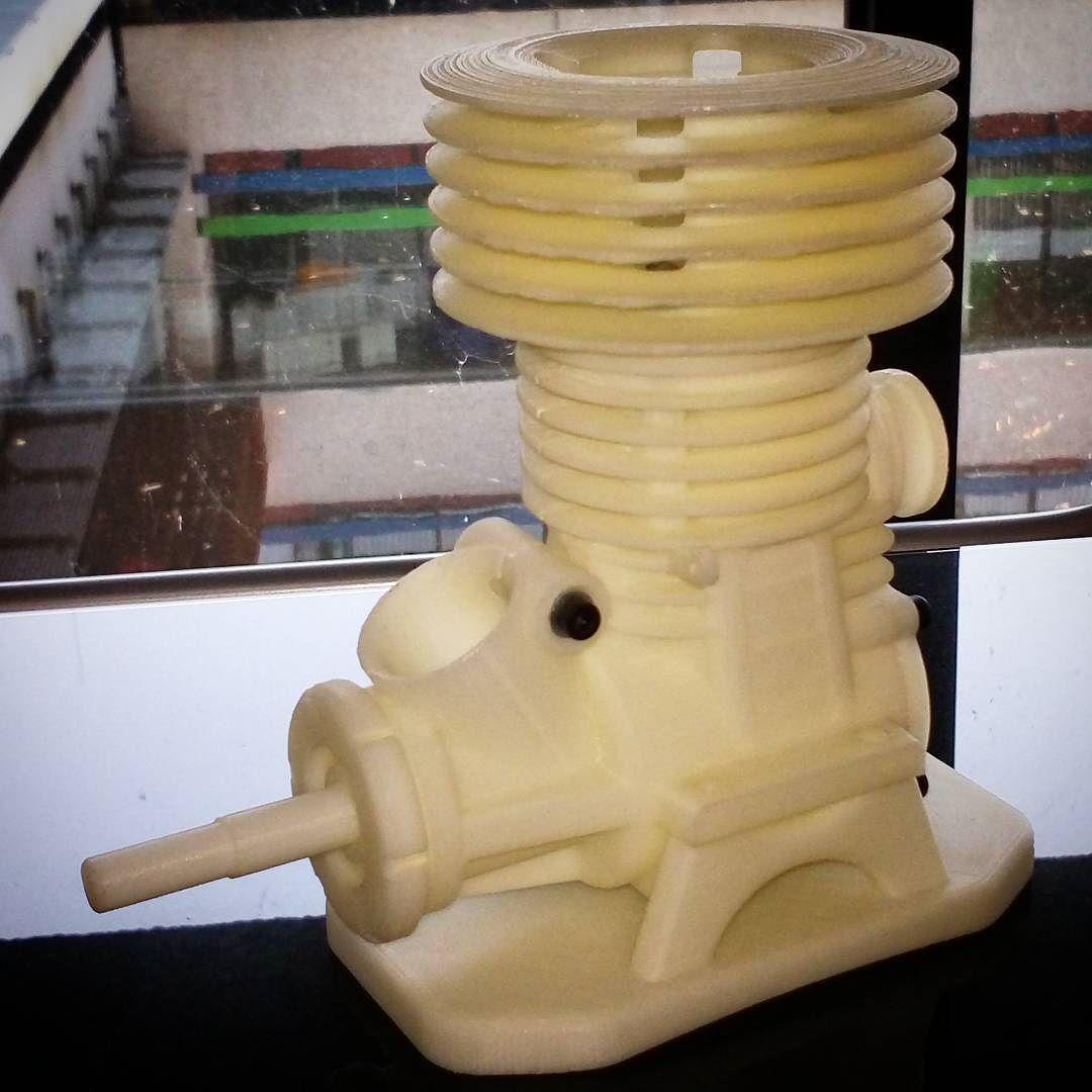 Mooi technisch model 3D geprint van ABS op de Inspire 3D printers van TierTime. #3dwp #3dprinten #3dgeprint #3dprinting www.3dwp.nl by 3dwp