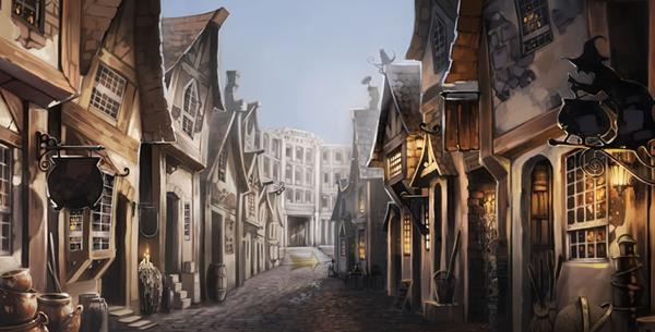 Diagon Alley...Pottermore