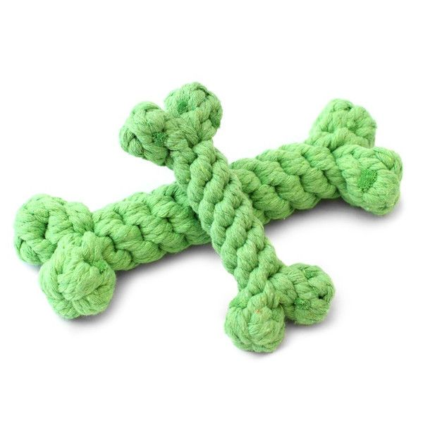 Harry Barker Cotton Rope Bone Toy Dog Toys Pet Boutique Online
